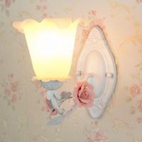 European style bedroom lamp wall lamp bedside lamp