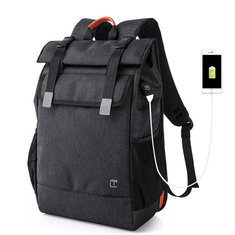 2018 USB Charging Laptop Backpack Men Fashion Waterproof Large Capacity Travel Backpack Casual Student School Bags For Teenagers new design usb charging men s backpacks male business travel women teenagers student school bags simple notebook laptop backpack