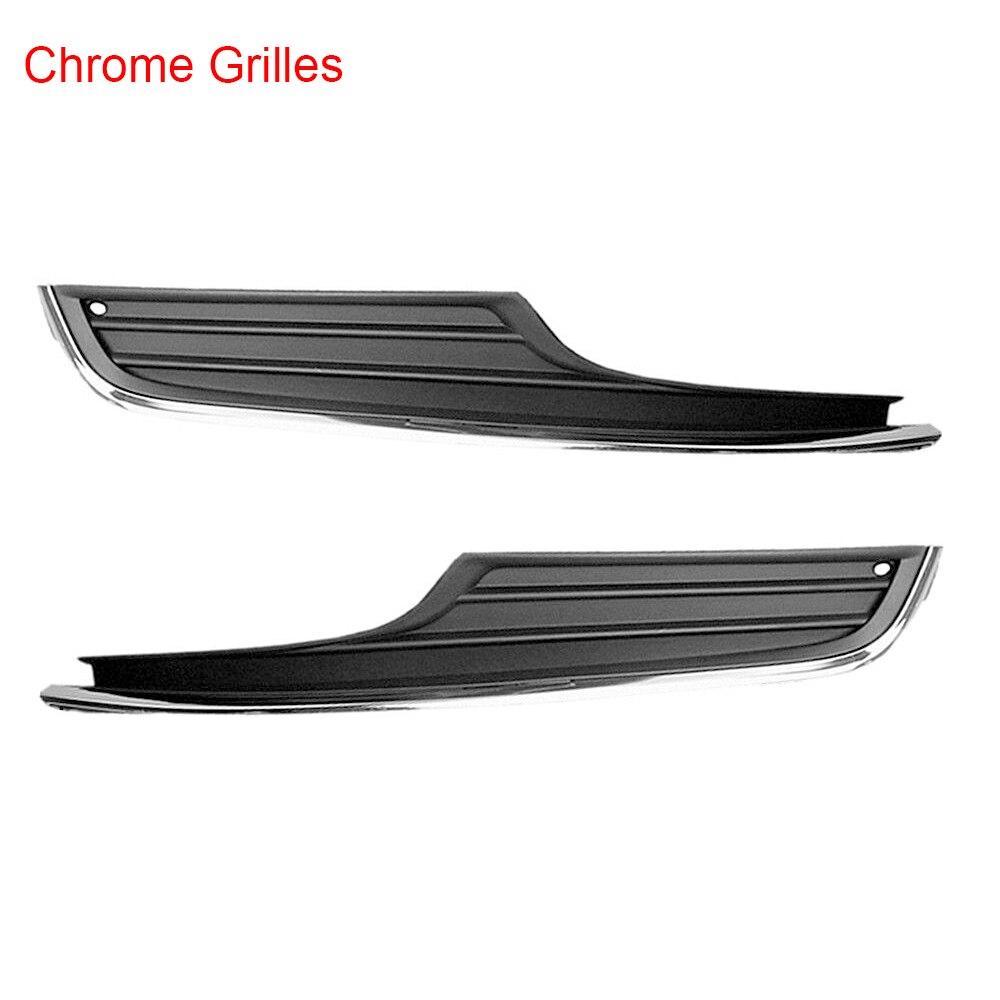 Chrome Noir Avant Gauche Droite Pare-chocs Inférieur Grilles Panneau De Couverture Pour VW Golf MK7 13-16 Variante 14- 16 5G0 854 661 5G0 854 662