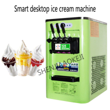 3 flavors Ice cream maker 5.7L*2 Commercial automatic yogurt ice cream machine Small soft ice cream machine 220V/110V
