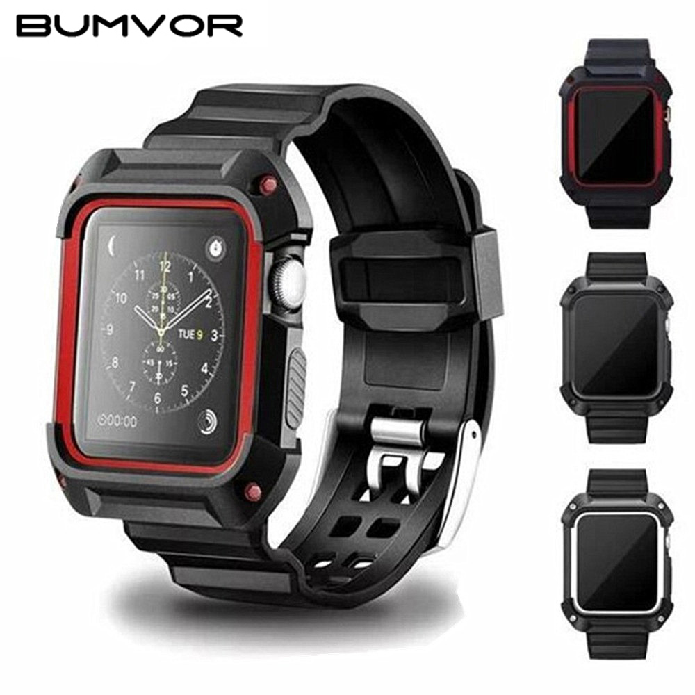 44mm Rugged Protective Case With Strap