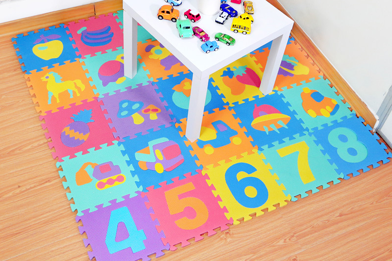 HTB1E..UbiYrK1Rjy0Fdq6ACvVXal 10Pcs animal Number Pattern Foam Puzzle Kids Rug Carpet Split Joint EVA baby Play Mat Indoor Soft activity Puzzle Mats