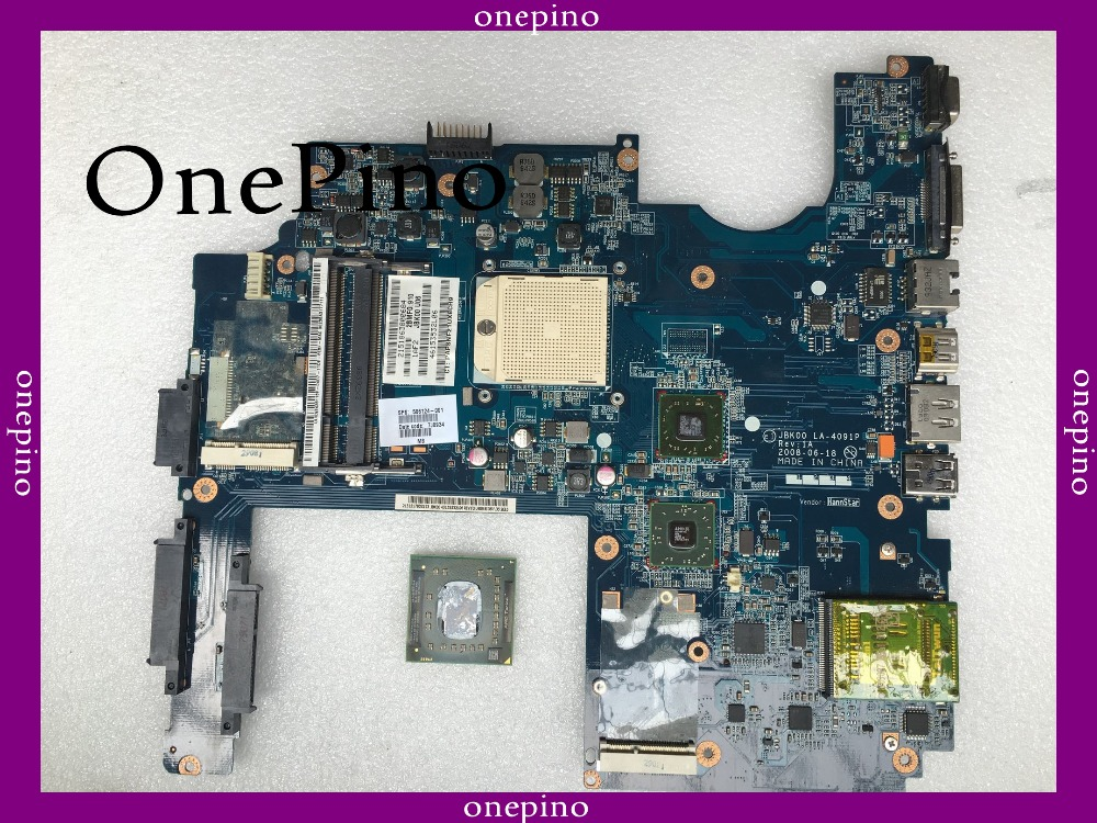 все цены на With free cpu 506124-001 fit for HP DV7 DV7-1100 laptop motherboard LA-4091P system board fully tested working онлайн