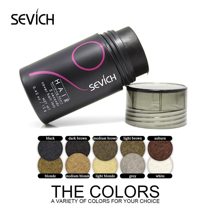 SEVICH 12g Extension Parys Baldness Concealer Hårfibrer Styling - Hårvård och styling
