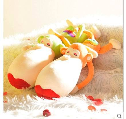 Free shipping New arrival 1pcs 40CM Red Mouse Stuffed animals toys Very Cute Monkey plush toys kids gift