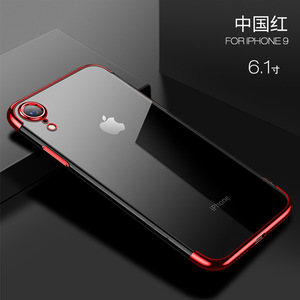 Image 5 - Sumgo soft TPU case for iPhone X Xr Xs Max cases ultra thin transparent plating shining case for iPhone Xs Mixed silicon cover