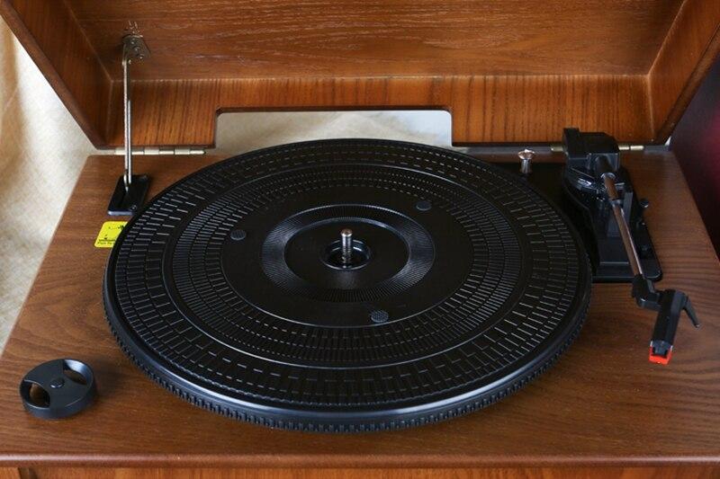 Классический винтажный граммофон, Виниловая пластинка, винтажный CD плеер, Ретро FM радио, Bluetooth, динамик 7 1, функция 220 В - 5