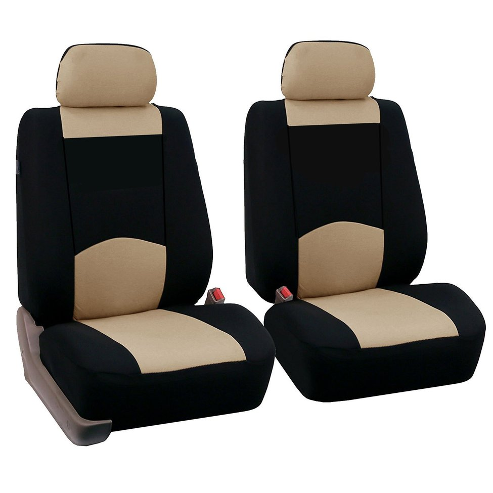 New 4pcs/set Car Sponge Seat Cover Front Seat Cover Replacement Car Styling Accessories Universal Fit for Most Cars