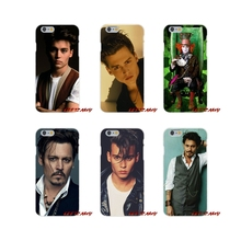 johnny depp Accessories Phone Shell Covers For Samsung Galaxy A3 A5 A7 J1 J2 J3 J5 J7 2015 2016 2017