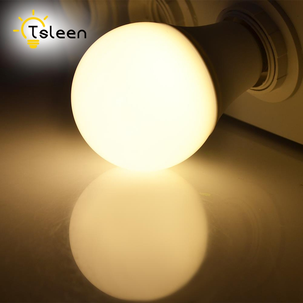 Warm White Round E27 LED Bulb Lamp 220v 110v light Bulb Lampara Bombilla Ampoule Spotlight 85V-260V SMD 5730 360 Lighting Angle