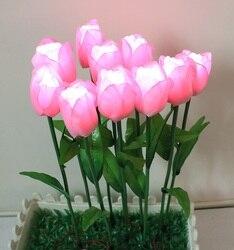 Plastic Bloem LED van Calla en Tulpen