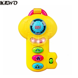 Kawo flash musical educational toys smart key with power button bright color toy phones for toddlers.jpg 250x250