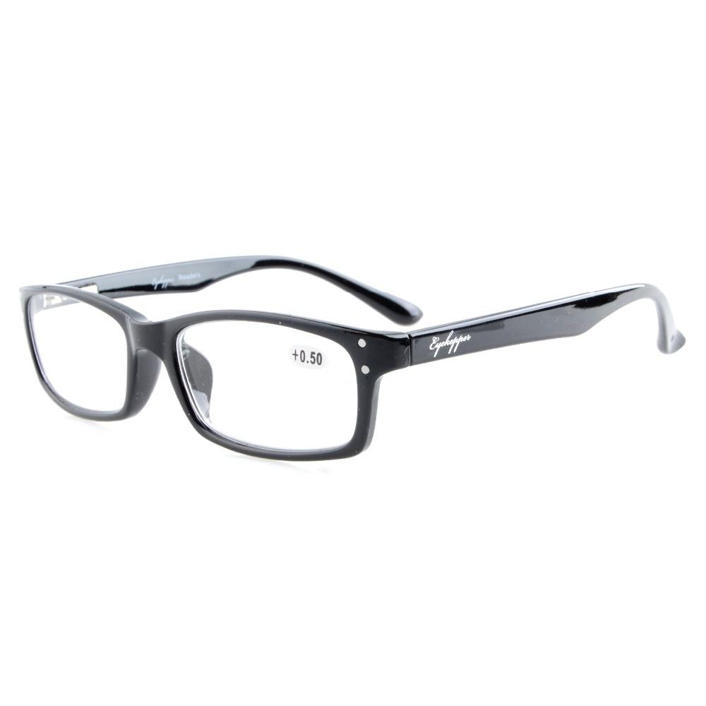 R103 Eyekepper olvasók Spring-Hinges Minőségi olvasóüvegek Férfiak +0,50 --- + 4,00