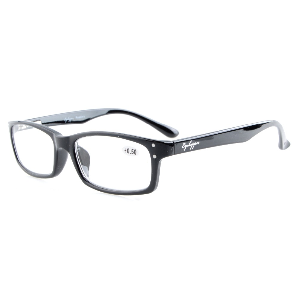 Lettori R103 Eyekepper Cerniere a molla Occhiali da lettura di qualità Uomini Donne +0.50 --- + 4,00