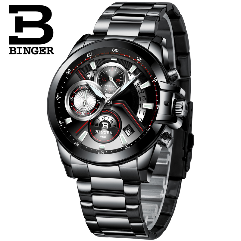 BINGER 2019 Watch Men Top Brand Luxury Military Army Sports Casual Waterproof Mens Watches Quartz Stainless Steel Wristwatch MenBINGER 2019 Watch Men Top Brand Luxury Military Army Sports Casual Waterproof Mens Watches Quartz Stainless Steel Wristwatch Men
