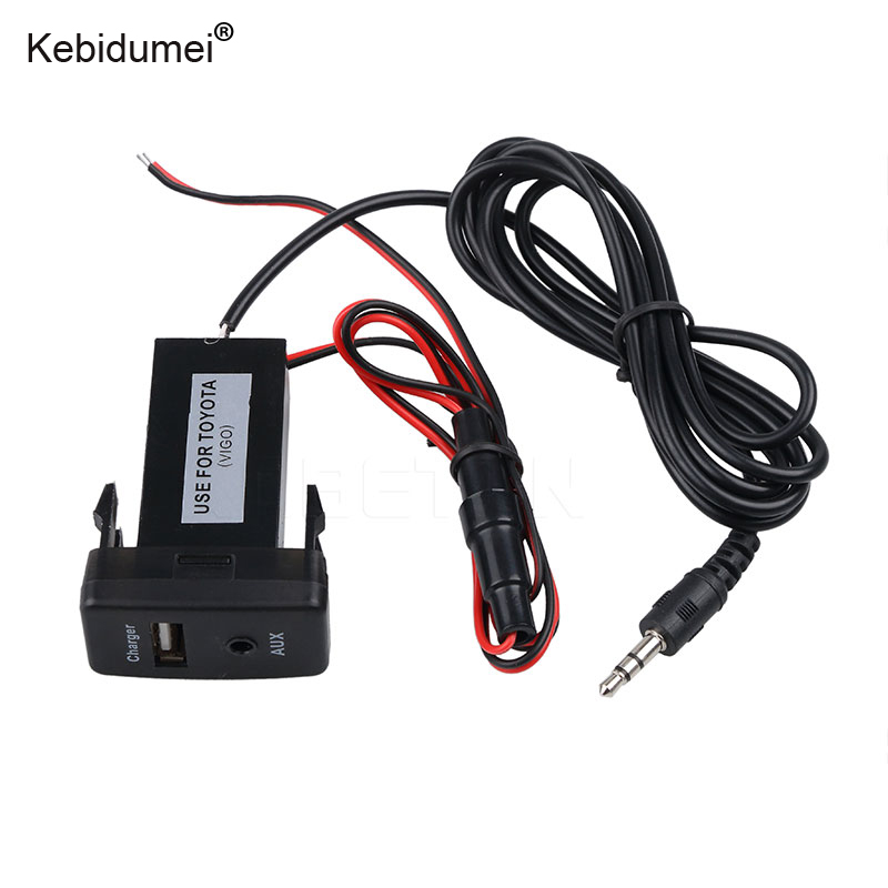 buy kebidumei usb aux charger power adapter car charger usb 2 0 converter for. Black Bedroom Furniture Sets. Home Design Ideas
