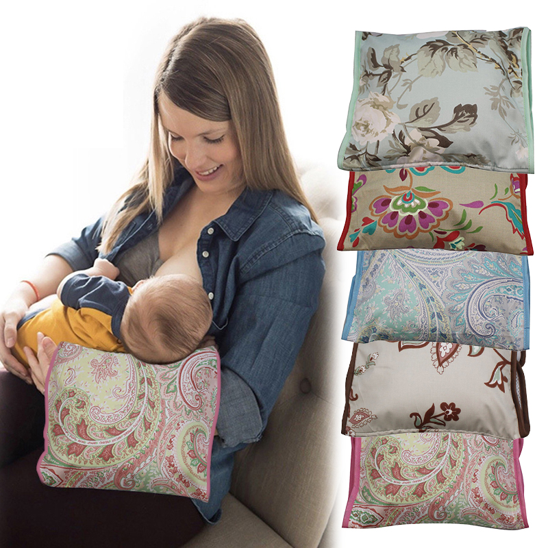 Comfortable Infant Support Prevent Anti Roll Baby Pillow Flat Head Neck Adjustable Breastfeeding Pillow Nursing Arm Pillow