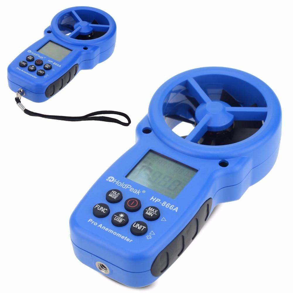 HoldPeak 866A digitális szélmérő - A szélsebességmérő méri a - Mérőműszerek - Fénykép 4