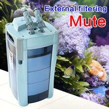 ATMAN EF-1, внешняя фильтрация для аквариума, биохимический фильтр для аквариума, внешний фильтр