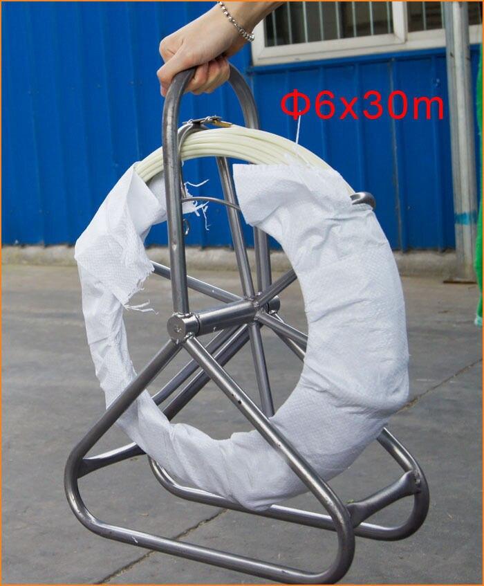 5*50 mt Duct Rodder, glasfaser Elektrische Kabel Draht Rohr ...