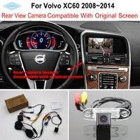 Lyudmila Per Volvo XC60 XC 60 2008 ~ 2014 RCA e Schermo Originale Compatibile/Car Rear View Camera/HD Back Up Reverse Fotocamera Imposta