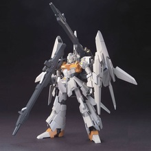 Original Gundam HG 1/144 Model RGZ-95C ReZEL TYPE-C DEFENSER b-UNIT Transformation Robot Mobile Suit Kids Toys