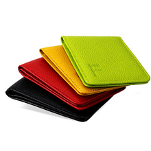 License driver ultra-thin id genuine card holder leather quality case high