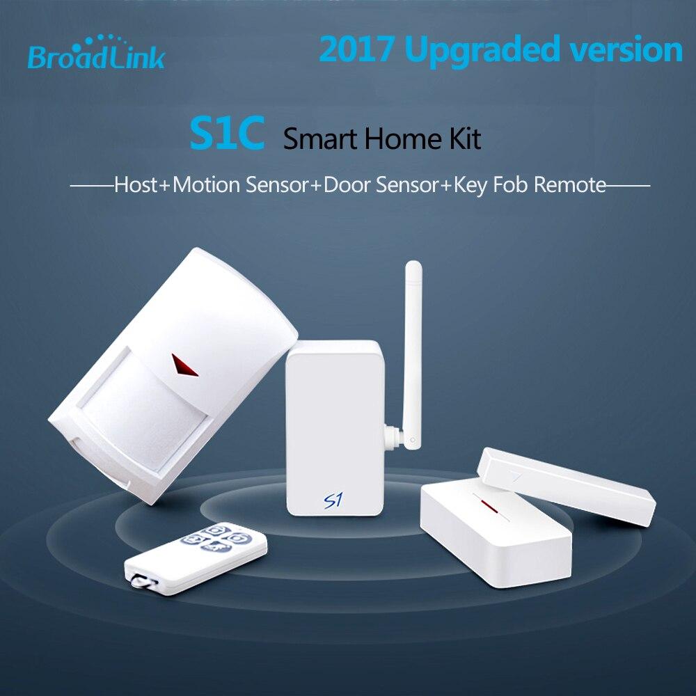 imágenes para 2017 broadlink s1/s1c smartone alarma y kit de seguridad para el hogar sistema de alarma inteligente ios android control remoto