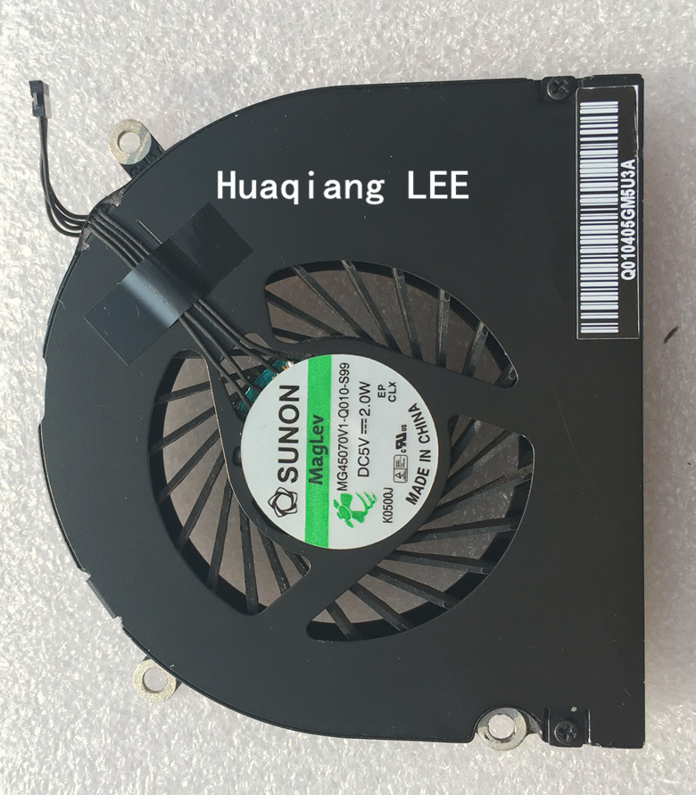 """Cooling Fan CPU Cooler KDB06105HC-HM01 for Macbook Pro 13/"""" A1502 2015"""