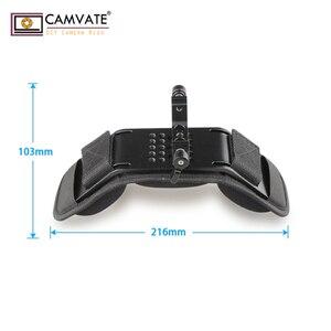 Image 5 - CAMVATE אוניברסלי מייצב כתף הר/זיכרון קצף כרית כתף עם 15mm Rail רוד קלאמפ עבור DSLR מצלמה תמיכה מערכת
