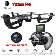 Yi Zhan Yizhan IDrone i4S 2.4G 4CH 6 Axis Remote Control Quadcopter Drone RTF UFO with 2MP HD Camera RTF