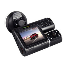Cheap price Range Tour 330 Rotatable lens i1000s 1080P Car DVR with two cameras Full HD Dash Cam Black Box Rear DashCam Camcorder