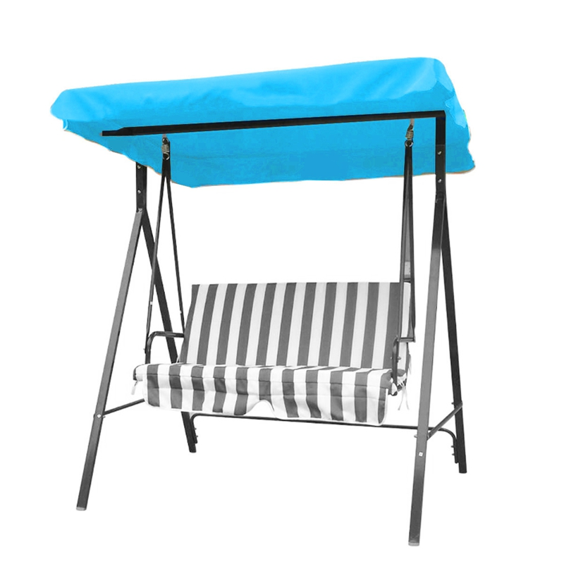 Replacement Canopy For Swing Seat Seater Sizes Garden Hammock Cover Patio