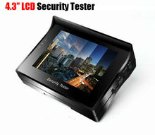 REDEAGLE Portable CCTV Video Tester For Analog Zoom Security Camera with 4.3 inch LCD Monitor
