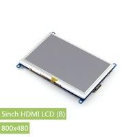 Raspberry Pi 5 Inch HDMI LCD Display 800x480 Touch Screen Supports Raspberry Pi 2 B A