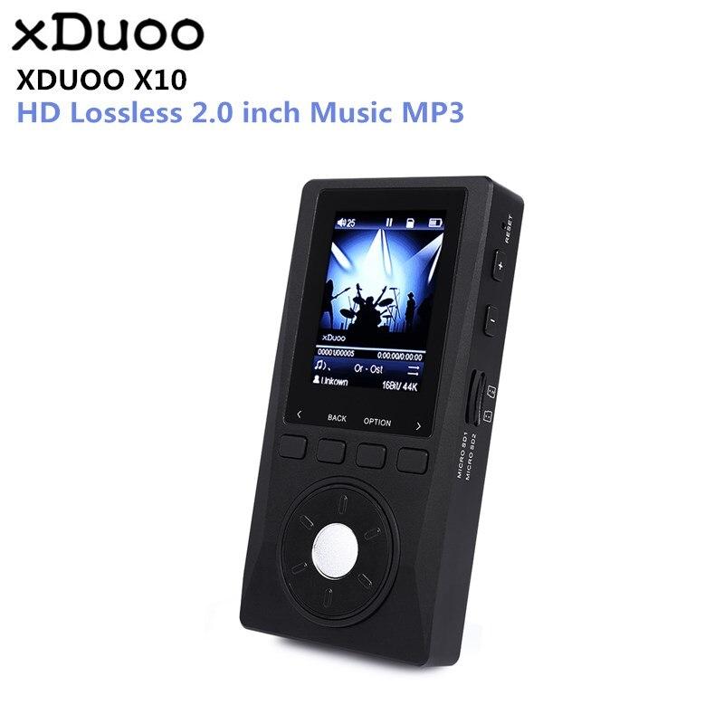 Оригинальный XDUOO X10 MP3 Портативный высокое Разрешение без потерь DSD музыкальный плеер DAP Поддержка оптический Выход MP3 плеер