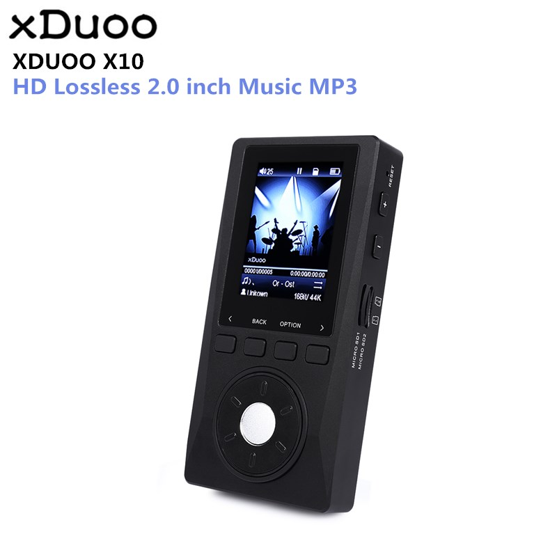 Original XDUOO X10 MP3 Portable High Resolution Lossless DSD Music Player DAP Support Optical Output MP3 Player