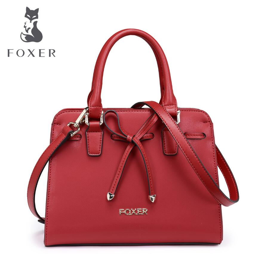 FOXER2017 new luxury fashion high-grade leather casual shoulder diagonal cross-leather bag brand-name products 100% high-quality foxer2017 new luxury fashion high grade leather casual shoulder cross leather bag brand name products 100% high quality women we