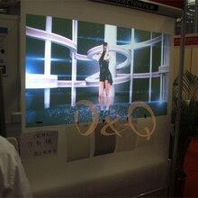 1,52 м* 1 м прозрачный задний клейкий проекционный экран 3D Голографическая проекционная пленка