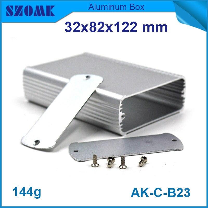 ᐂ10 unidades mucho, Plata aluminio pequeño instrumento control ...