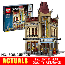 2016 New LEPIN 15006 2354pcs Creator Palace Cinema Model Building Blocks set Minifigures Bricks Toys Compatible 10232 BrickGift