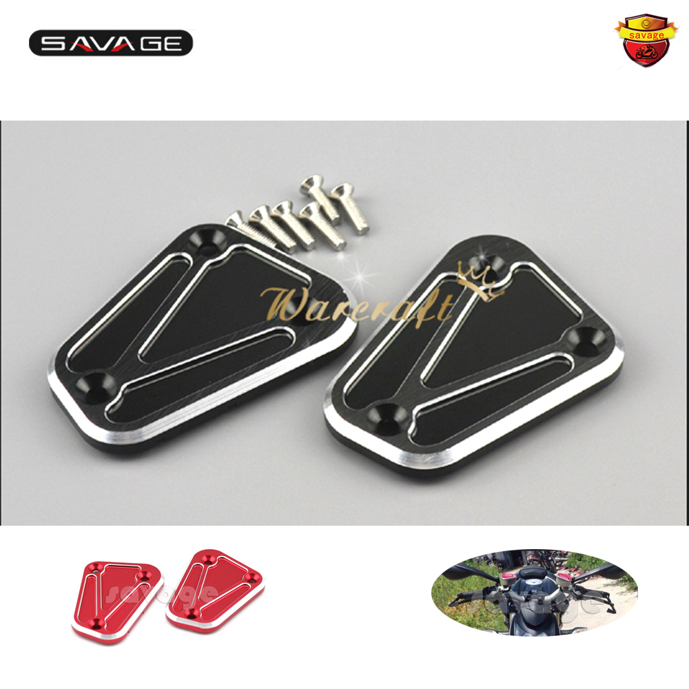 for ducati streetfighter 848 streetfighter s red motorcycle accessories cnc aluminum short brake clutch levers For Ducati Streetfighter 848 1100/S GT1000 Touring Front Brake Clutch Fluid Reservoir Cover Cap Motorcycle Accessories