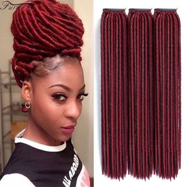 Faux Locs 24 Rootspack Synthetic Hair Kinky Curly Hair Hot Selling