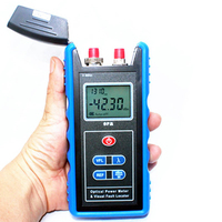 All in One Fiber Optical Power Meter & 10mW Visual Fault Locator