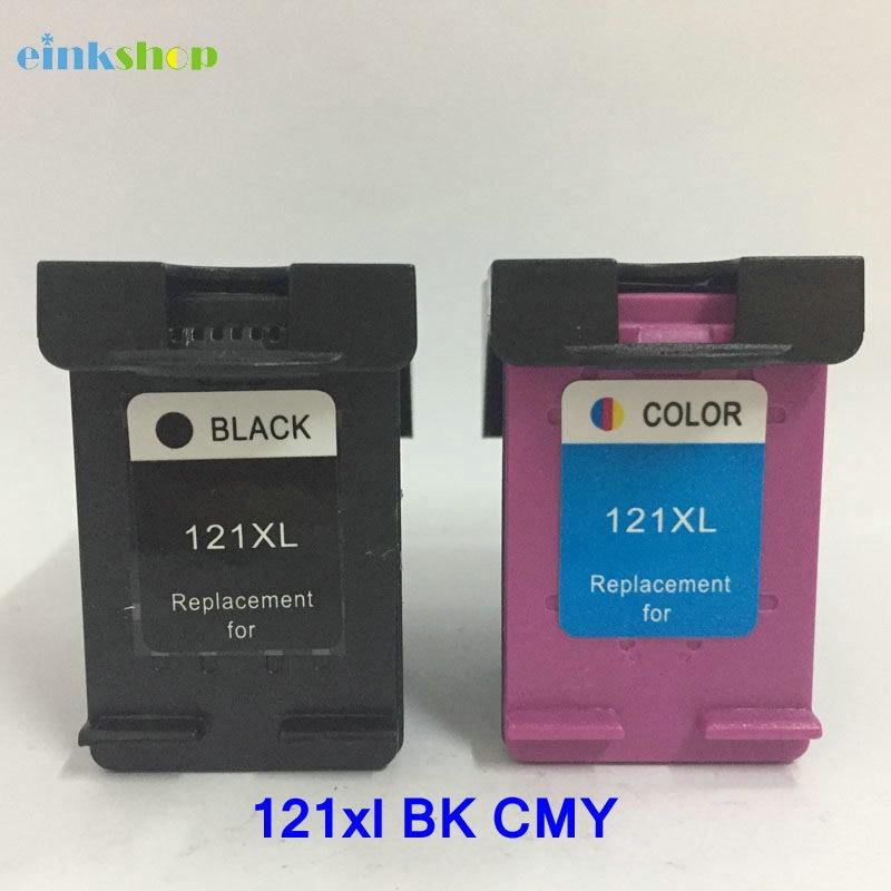 Printer Einkshop i pajtueshëm për HP 121 121xl Ink Cartrjet për HP Deskjet D2563 F4283 F2423 F2483 F2493 F4213 F4275 F4283 F4583 Printer