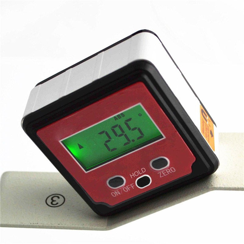 Digital Angle Finder Protractor Inclinometer Level Box Level Measuring Tool Electronic Angle Meter Gauge With Magnetic Base 400mm 16in backlight lcd digital protractor spirit level angle meter inclinometer angle finder measuring tool