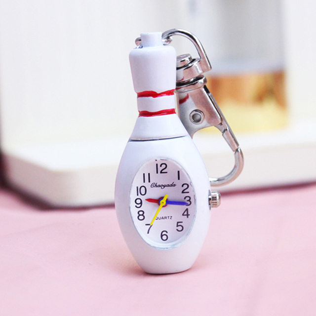 chaoyada Key chain Vintage white color Quality Classical white Tone Cool Fashion
