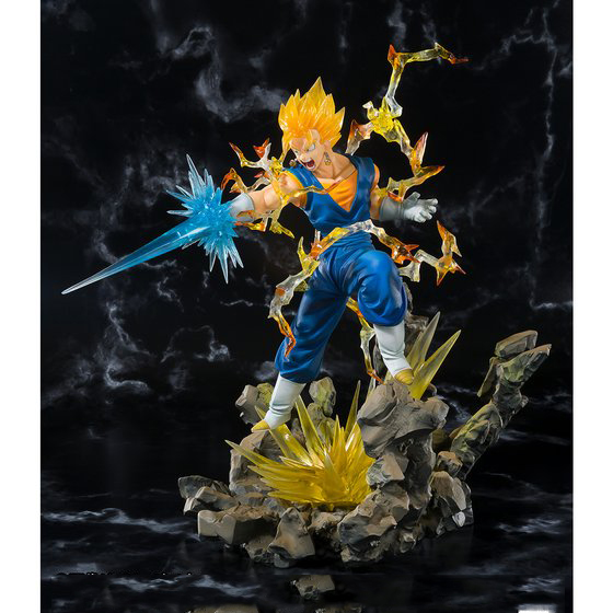 Hot Anime Dragon Ball Z Vegetto Ferrite 20cm Action Figures Anime Game Doll Toy christmas Gift Hardened Edition 20cm canine patrol dog toys russian anime doll action figures car patrol puppy toy patrulla canina juguetes gift for child m134
