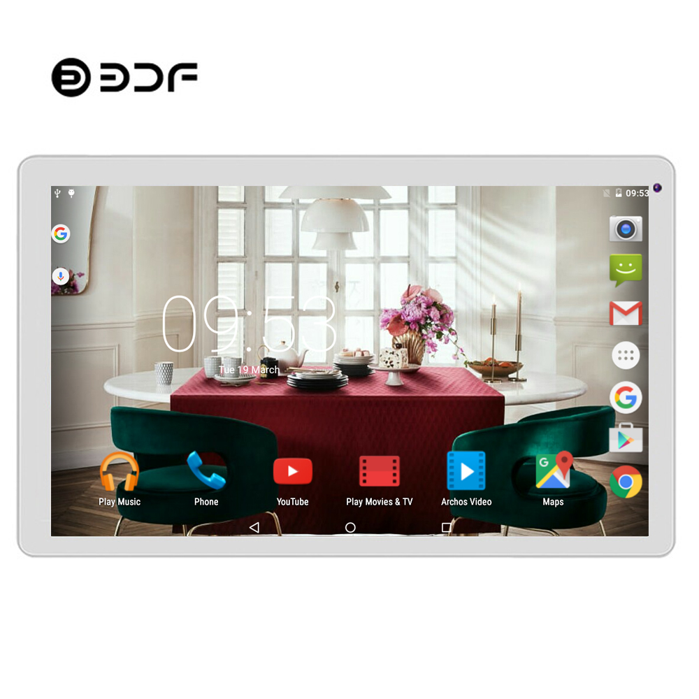 BDF Tablet 10 Inch Android 5.1 WiFi Tablets Pc 1024*600 Quad Core 1GB+32GB Mini Computer Tablet Laptop Android Tablet 7 8 9 10