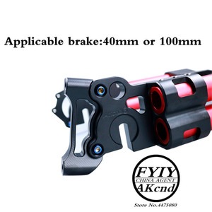 Image 5 - AKCND אופנוע אחורי השעיה אלומיניום סגסוגת קטנוע אחורי נדנדה זרוע שונה מזלג עבור niu n1/n1s חשמלי קטנוע רכב